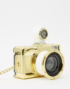 Золотистый фотоаппарат Lomography Fisheye 2 - Золотой