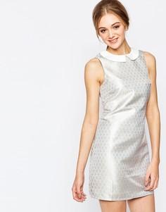 Жаккардовое платье-туника Sugarhill Boutique Rita