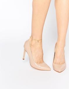 Телесные туфли-лодочки Faith Carey - Телесный