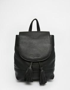Кожаный рюкзак Ruby Rocks - Черный