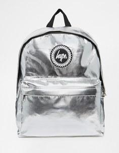 Рюкзак металлик Hype - Серебряный