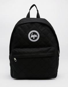 Черный стеганый рюкзак Hype - Черный