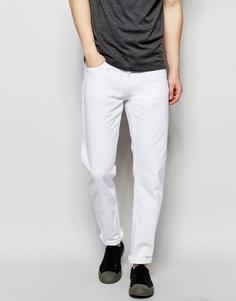 Белые джинсы классического кроя Wood Wood - Белый