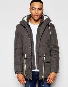 Куртка с капюшоном Native Youth Explorer - Серый