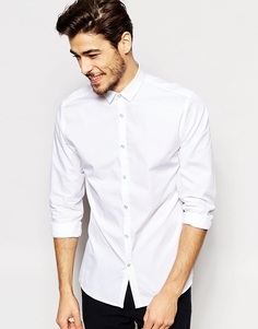 Рубашка на кнопках Noak - Белый