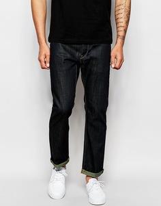 Прямые темные джинсы G-Star 3301 - Raw