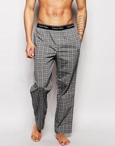 Штаны для дома прямого кроя Calvin Klein - Серый