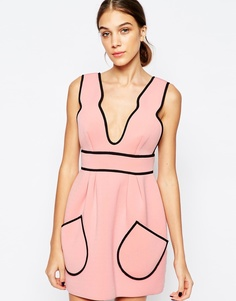 Розовое платье Alice McCall Cloudbursting - Балет