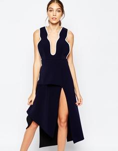 Темно-синее платье миди Alice McCall Soul Vendour - Midnight