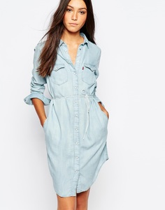 bd42bfad1ce Джинсовое платье в стиле вестерн Levis Iconic - Лиоцелл Levi s®