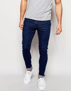 Джинсы скинни винтажного цвета Only & Sons - Умеренный синий