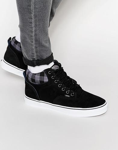 Высокие зимние кроссовки Vans Era - Черный