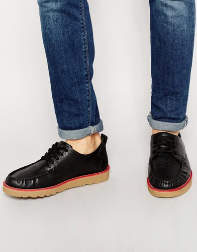Палубные туфли Firetrap New England - Черный