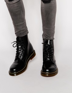 Ботинки с 8 парами люверсов Dr Martens Original 11822006 - Черный