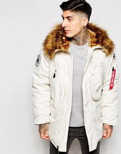 Парка Alpha Industries Polar - Белый