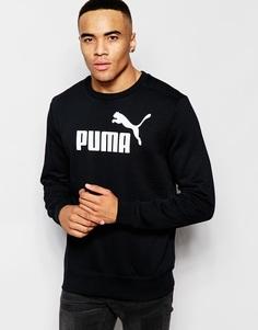 Свитшот с логотипом Puma - Черный