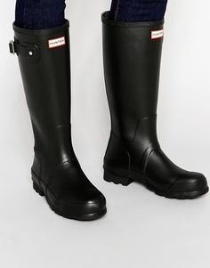 Высокие резиновые сапоги Hunter Original - Черный
