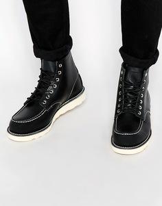 Кожаные ботинки Red Wing - Черный