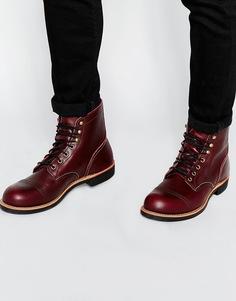 Кожаные ботинки Red Wing Iron Ranger - Красный