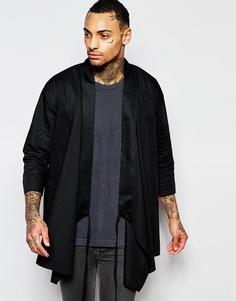 Черное кимоно с запахом ASOS - Черный