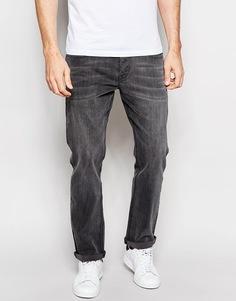Умеренно-серые прямые джинсы стретч ASOS Green Caste - Умеренный серый