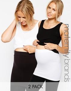 Набор из 2 поддерживающих поясов для беременных Mamalicious - Мульти Mama.Licious
