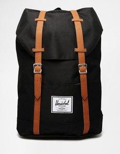 Черный рюкзак Herschel Supply Co Retreat - Черный 00001