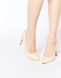 Лакированные туфли-лодочки на каблуке Ted Baker Neevo 4 - Телесный