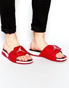 Шлепанцы Nike Air Jordan Hydro 5 820257-601 - Красный