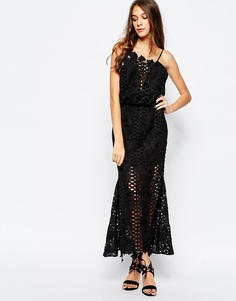 Черное платье миди Alice McCall Lovelight - Черный
