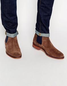 Замшевые ботинки челси Ted Baker Camroon - Коричневый