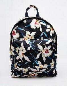 Рюкзак с цветочным принтом Mi-Pac - Темно-синий