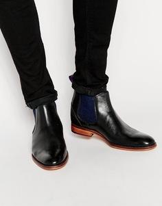 Кожаные ботинки челси Ted Baker Camroon - Черный