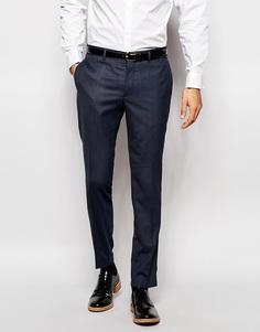 Эластичные брюки слим Jack & Jones Premium - Синий
