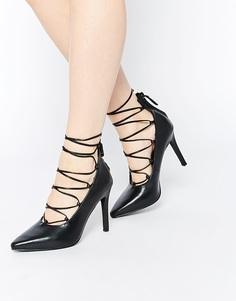 Черные кожаные туфли-лодочки на каблуке Senso Roxi II Ghillie - Черный