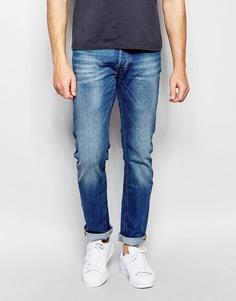Эластичные джинсы слим Lee Daren - Authentic blue