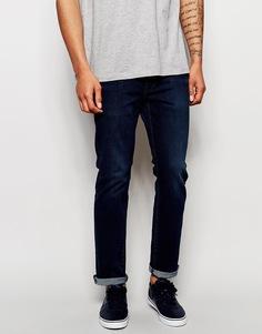 Темные эластичные джинсы прямого кроя G-Star 3301 - Темный состаренный