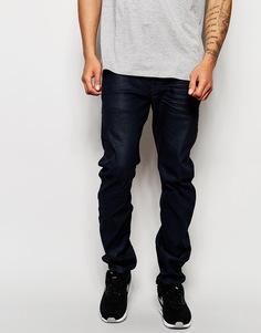 Темные стретчевые джинсы слим G-Star Arc 3D - Темный состаренный