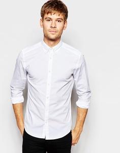Рубашка с воротником на пуговицах Esprit - Белый