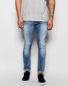 Светлые эластичные джинсы слим G-Star Revend - C легким эффектом состаренности