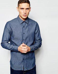 Легкая джинсовая рубашка G‑Star - Raw