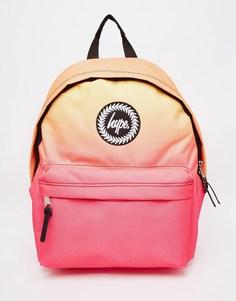 Розово-оранжевый рюкзак с эффектом омбре Hype - Розовый с эффектом омбре