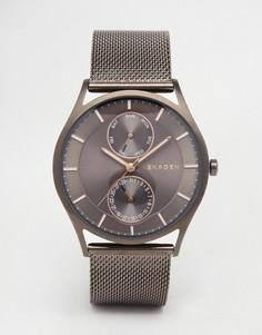 Наручные часы черного цвета Skagen Holst SKW6180 - Черный