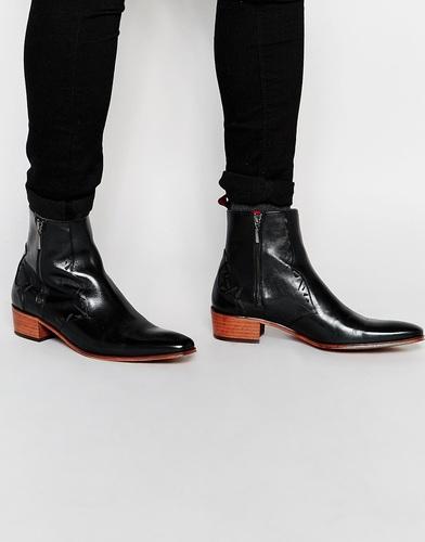 Ботинки на молнии Jeffery West - Черный