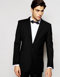 Пиджак кроя слим из 100% шерсти Hart Hollywood by Nick Hart - Черный