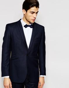 Пиджак кроя слим из 100% шерсти Hart Hollywood by Nick Hart - Темно-синий