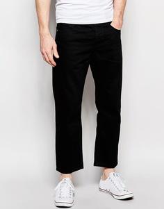 Укороченные прямые джинсы ASOS - Черный