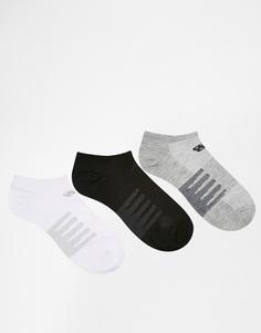 3 пары носков‑подследников New Balance - Мульти