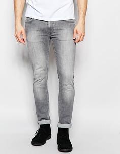 Темные джинсы слим Nudie Jeans Thin Finn - Цвет темного булыжника