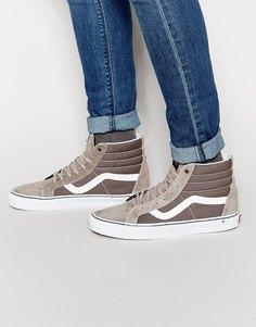 Высокие кроссовки Vans Sk8 Reissue - Серый